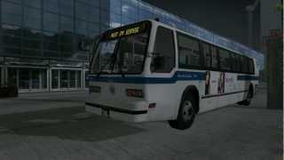 City Bus Simulator 2010 - New York Gameplay #1 HD