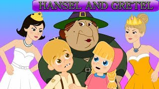 Kids Story Collection | Hansel and Gretel - 12 Dancing Princesses
