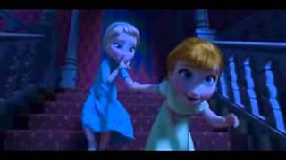 DisneyFrozen little anna and elsa