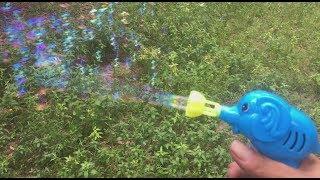 Mini bubble gun review