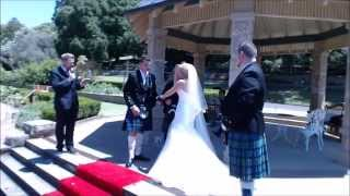 Hollie and Gilan's Handfasting - Stephen Lee - Modern Male Young Marriage Celebrant Sydney