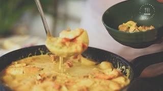 Cà ri Tôm kiểu Thái - How to make Thai Curry with Prawns