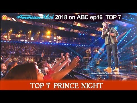 "Caleb Lee Hutchinson sings ""Amazed"" GETS GIRLS SCREAMING  Prince Night American Idol 2018  TOP 7"
