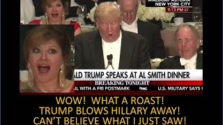 Trump Goes Ape Shit On Hillary At Religious Dinner! WOW! Unbelievable!