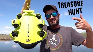 FIRST BACKYARD POND DIVE, EVER! Treasure Hunting W/ A FiFiSH V6 Underwater Camera Robot 2019 QYSEA