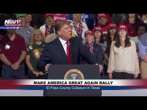 Xxx Mp4 FULL MAGA RALLY President Donald Trump In El Paso Texas FNN 3gp Sex
