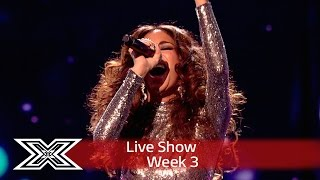 Nicole Scherzinger's diva mash-up! | Live Shows Week 3 | The X Factor UK 2016