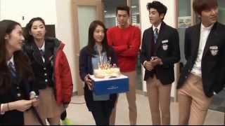 The heirs funny moments part 5, Korean New Drama, Park shin hye & Lee min ho korean
