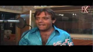 JAHANGIR KHAN INTERVIEW ON HIS FIRST SONG 'AKHIR KASOOR ZAMA PA SU DE'-SEHER KHAN-SEHER MALIK-BARKHA