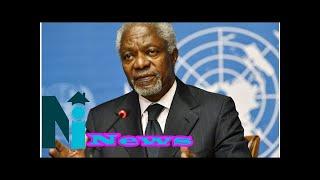 Kofi Annan: What Obasanjo, Jonathan, Dangote said about late ex-UN Secretary-General