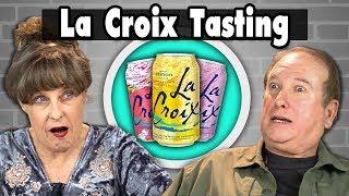 Elders Vs. Food   LA CROIX TASTING (17 FLAVORS!)