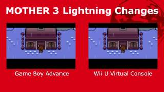 MOTHER 3 Lightning (Japanese GBA vs Japanese Wii U)