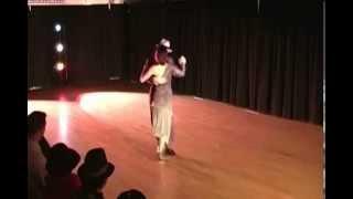 Tango Dancers Gustavo and Jesica Hornos