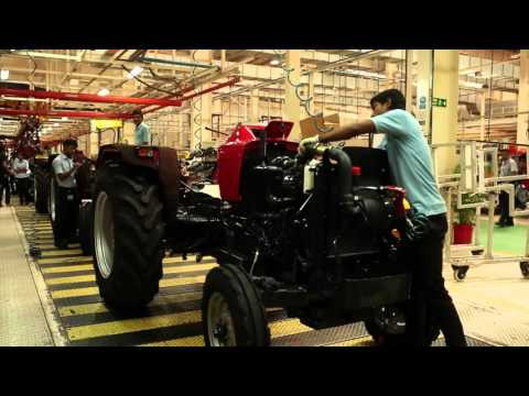 Xxx Mp4 Mahindra Tractor Manufacturing Video For Make In India Week 3gp Sex