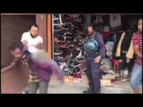 Xxx Mp4 Nepal Police Beat Mentally Ill Person With No Humanity 3gp Sex