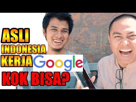 TRIK DAPAT KERJA DI GOOGLE ‼️ KISAH SUKSES ORANG INDONESIA