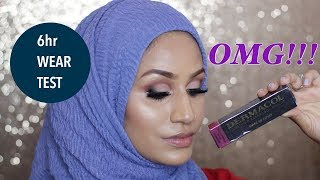 DERMACOL | REVIEW | 6HOUR WEAR TEST | Aisha Rahman