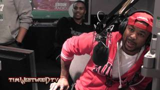 The-Dream recording with Ciara, marriage, live acappella & R Kelly - Westwood