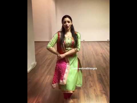 Hot Punjabi girl bhangra dance