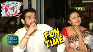 Raman And Ishita Fun Times On Set | Ye Hai Mohabbatein | Star Plus