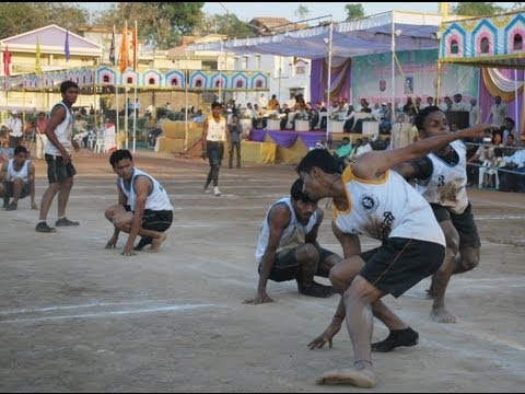 Kolhapur v/s Sangli  final match Bhai nerulkar 2013 at Nandurbar