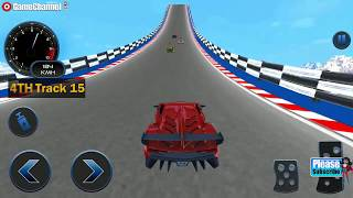 Impossible Car Crash Stunts Car Racing Game / Android Gameplay Video #4