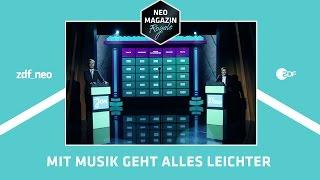 Mit Musik geht alles leichter [Extended Version]   NEO MAGAZIN ROYALE mit Jan Böhmermann - ZDFneo