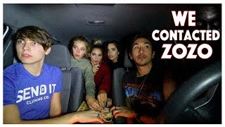 Ouija Board in the car (GONE WRONG) *Contacted Zozo the Demon*