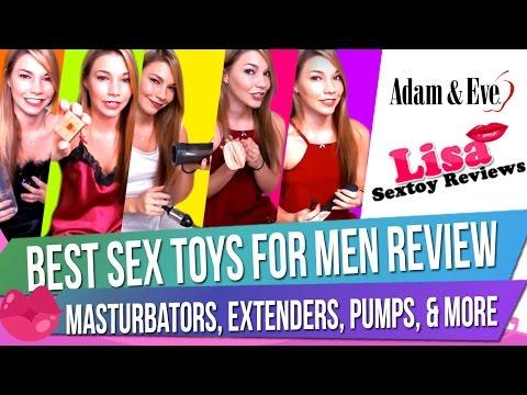 Male Sex Toy Haul: Best Sex Toys for Men Review - Masturbators, Extenders, Pumps, & More