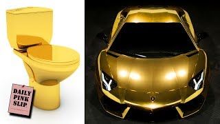 10 Most Expensive Things Ever Made Out of Gold