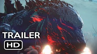 Godzilla: Monster Planet Official Trailer #1 (2017) Netflix Animated Movie HD