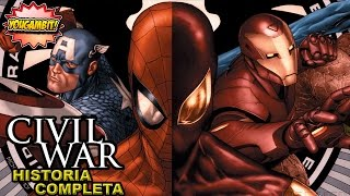 VIDEOCOMIC: CIVIL WAR - Historia Completa (Incluye Epílogo)