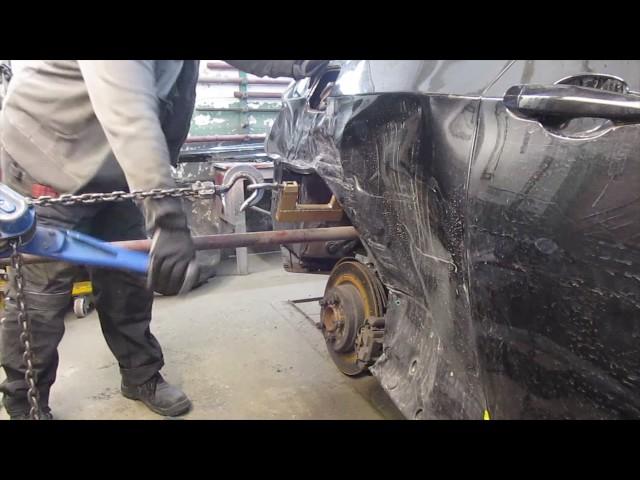BMW Coupe. Metal works. Работа с металлом.