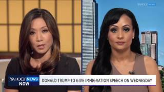 Yahoo News Now: Trump spokesperson Katrina Pierson on campaigns apparent shift in immigration policy