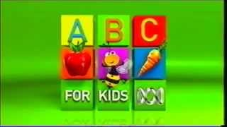 ABC For Kids Ident (2009) (VHS)