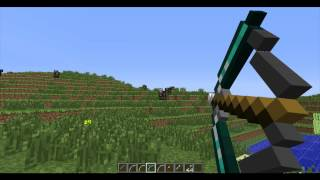 Minecraft Mods - Ep.4 More Bows Mod