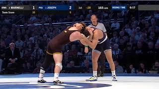 Vincenzo Joseph vs. Alex Marinelli- Penn State vs. Iowa Wrestling Dual