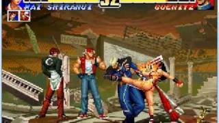 King of Fighters 96 - Goenitz Battle