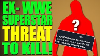 EX-WWE Superstar Threatens To End AEW Wrestlers Life!  More WWE Superstars LEAVING!?
