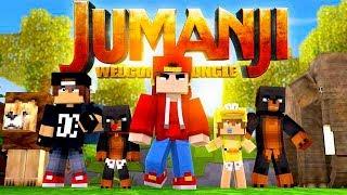 Minecraft Adventure - JACK & DONUT THE DOG GET SUCKED INTO JUMANJI!!