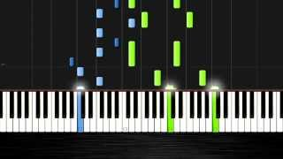 Tove Lo - Habits (Stay High) - Piano Tutorial (50% Speed) by PlutaX - Synthesia