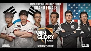 Team SoloMid (TSM) Vs. Phoenix Armada Full Game 3: Vainglory Worlds 2016 Championships FINALS