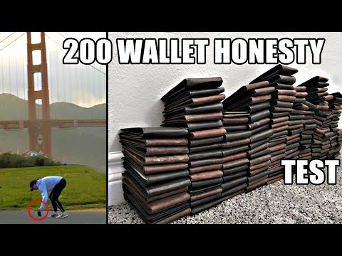 200 dropped wallets the 20 MOST and LEAST HONEST cities