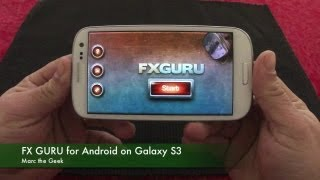 FX Guru for Android Hands On