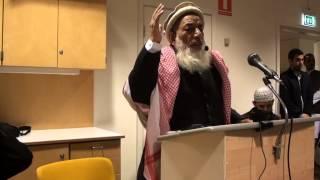 Shaykh Ul Hadeeth wa Alquran, Molana Abdul Malik in Stockholm 2013  part 1