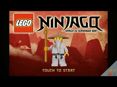 LEGO Ninjago Spinjitzu Scavenger Hunt iPhone Game Preview