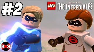 LEGO The Incredibles - HOVER TRAIN HIJINX - PS4 Pro Walkthrough Gameplay Part 2