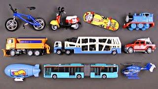#1 Best Toddler Learning Street Vehicles for Kids Best Hot Wheels Matchbox Cars Trucks for Children