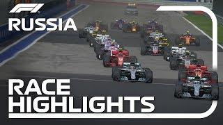 2018 Russian Grand Prix: Race Highlights