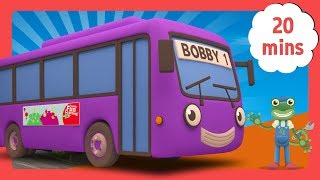 The Best of Bobby The Bus | Bus Videos For Children | Gecko